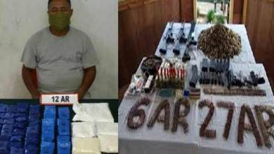 Manipur : Assam Rifles Recover Arms, Ammunition, Explosives and Drugs
