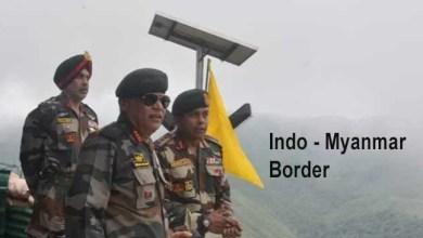 Nagaland: GOC Eastern Command visits along Indo-Myanmar border