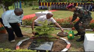 Assam: Tree plantation drive at base hospital, Basishtha