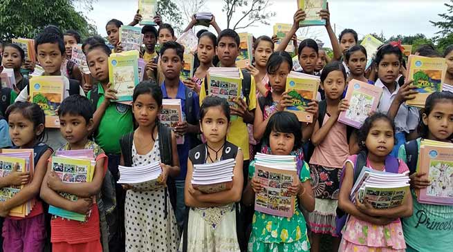 Assam: Believers Eastern Church distributed school items to underprivileged children