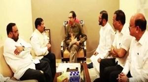 Assam: AGP delegation meet Shivsena chief Uddhav Thackeray