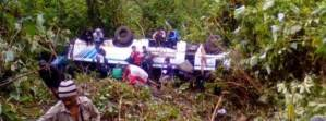 Mizoram: 21 killed in Land Slide, road accident
