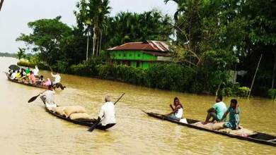Photo of Assam: Keshab Mahanta visits flood hit Barak Valley