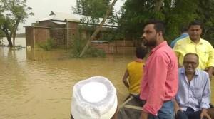 Assam: 80 thousand affected in flood hits Hailakandi