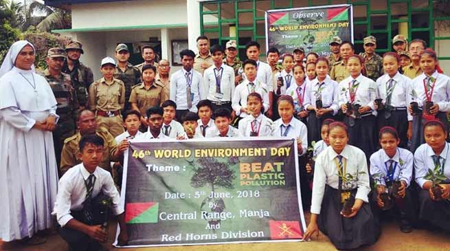 Assam: Red horn division observes world environment day
