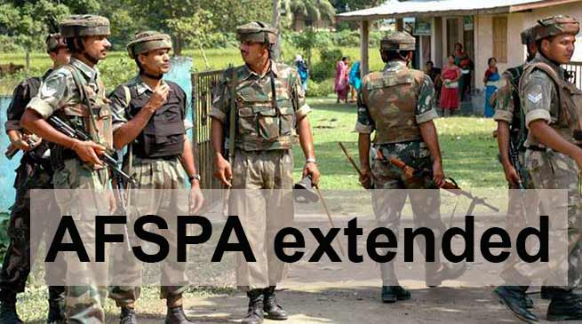 Assam: In view of NRC, AFSPA extended for another six months in state