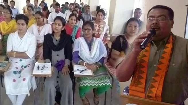 Assam: Workshop on Behavioral remodeling and use of ICT tools