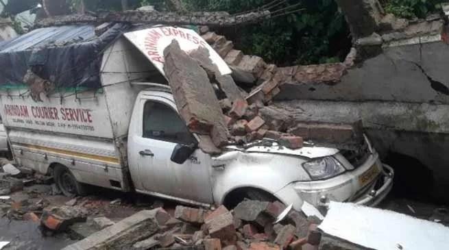 Assam-Meghalaya : 3 killed in landslide, Flash floods creates havoc