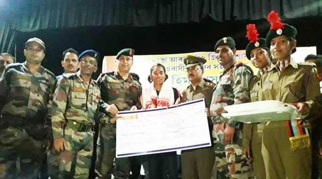 Assam: NCC Felicitates Hima Das