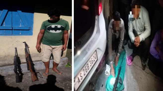Assam: Security forces apprehended Four NDFB (S) over ground workers