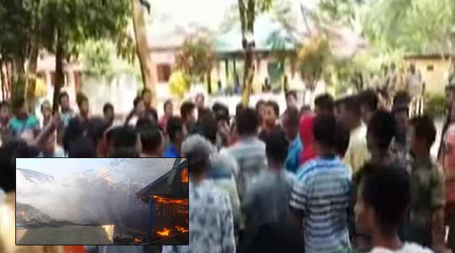 Tripura: 300 flee after clash over molestation of a tribal girl