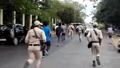 Manipur:  Tension erupts at Manipur University once again