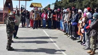 Arunachal: Seemadarshan for KV girls students