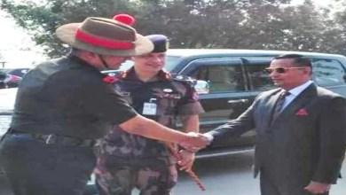 Bangladesh Military Delegation visits Trishakti Corps