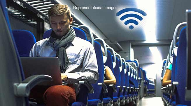 Assam: NFR introduced free Wi-Fi in Agartala – Anand Vihar Rajdhani Express