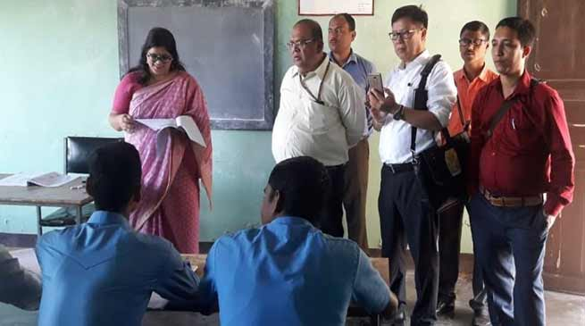 Assam: Central team from MSDE oversees skill development initiatives in Hailakandi