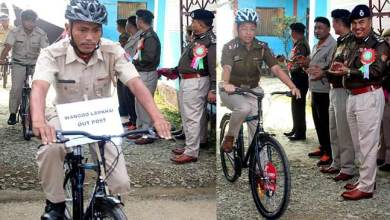 Manipur: 'Cycle PatrolUnit' for Manipur police
