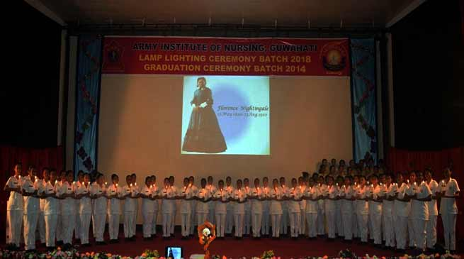 Assam: AIN organised Graduation and Lamp Lighting ceremony
