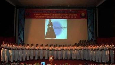 Assam:AIN organised Graduation and Lamp Lighting ceremony