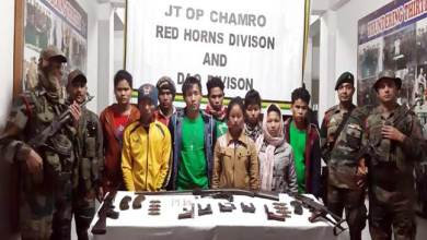Army, Police apprehended 9 NDFB(S) cadre from Arunachal