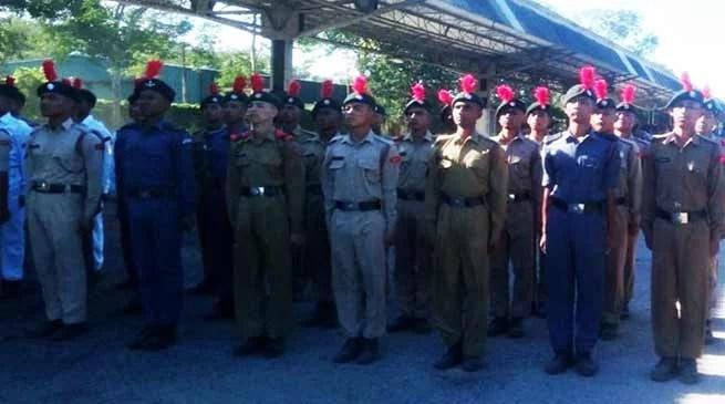 Assam:Pre Republic Day training Camp for NE NCC Cadets