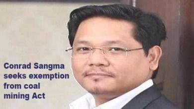 Meghalaya:Conrad Sangma seeks exemption from coal mining Act