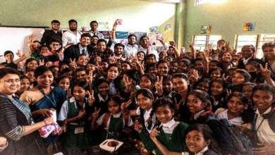 Photo of International Women's Day- Rotract Club donates 8000 Sanitary pads to 215 students