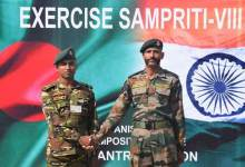 India-Bangladesh joint military exercise ' Sampriti ' begins