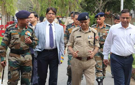 Assam: Operational group meeting held at Narangi Cantonment