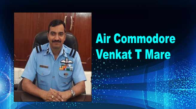 Assam: Venkat T Mare takes charge of Borjhar Air Force Station
