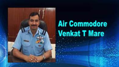 Assam:Venkat T Mare takes charge of Borjhar Air Force Station