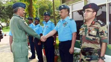 Photo of Assam: Air OfficerCommanding-in-chief visits air force station digaru