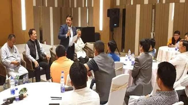 Conrad Sangma hopes for Landmark Victory of NPP in Arunachal Pradesh