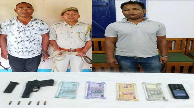 Assam: DNLA cadres apprehended by Indian Army