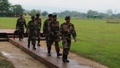 Eastern Army Commander Visited Forward Ares in Arunachal Pradesh and Assam
