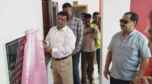 Assam: New building of fire service station inaugurated