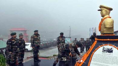 Photo of Sikkim: Bust of Iron man of Natula Inaugurated at Natula
