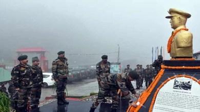 Sikkim: Bust of Iron man of Natula Inaugurated at Natula