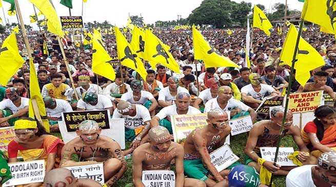 Assam: Like J&K, solve Bodoland issue- BMO urges govt