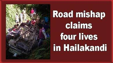 Assam: Road mishap claims four lives in Hailakandi