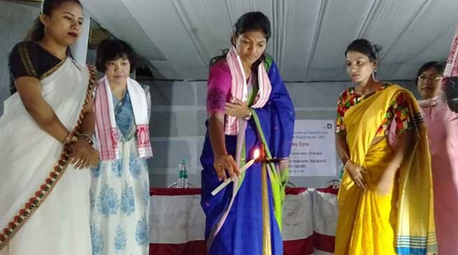 Assam: Assistive devices distributed to persons with disabilities and senior citizens in Hailakandi