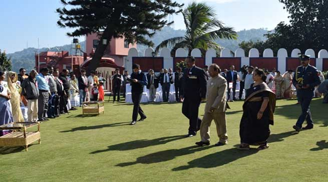 Assam: Armed Forces Flag Day Celebrated at Raj Bhawan