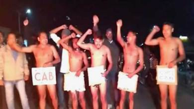 Assam: Nude protest against Citizenship (Amendment) Bill (CAB) 2019