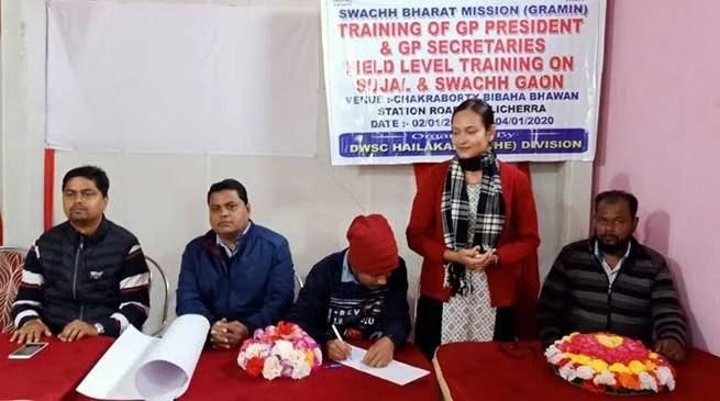 Assam: Field level training of GP presidents, secretaries held in Hailakandi