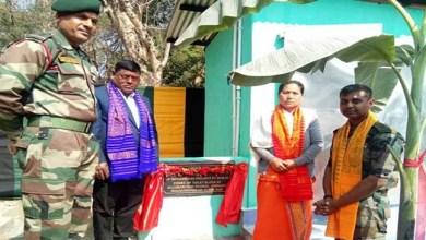 Assam: Army dedicates Toilet Blocks for Girls School in Chirang