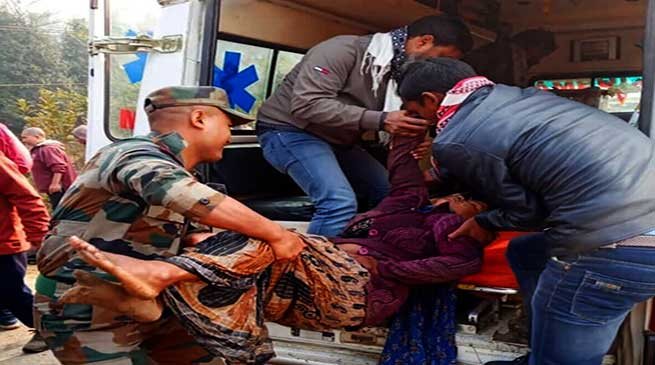 Assam Bus Accident: 6 Killed, 20 injured, Army rescues Passengers