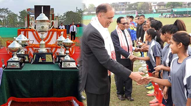 Assam: Army hosts 16th Captain Jintu Gogoi Vir Chakra Memorial Football Tournament in Dibrugarh