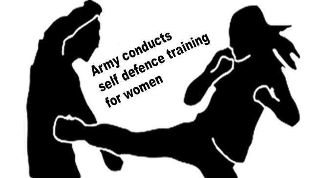 Assam: Army conducts self defence training for women