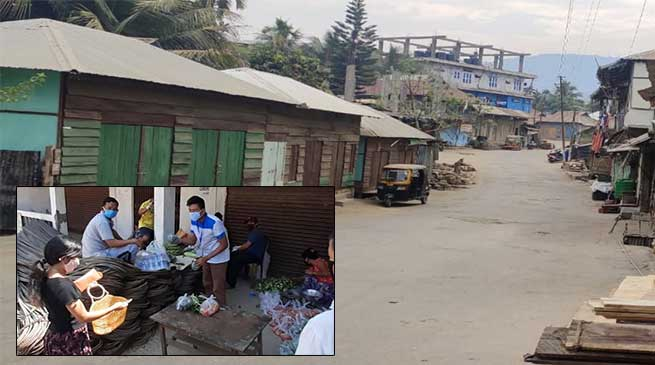 Coronovirus Crisis: Kamalanagar TF provides essential commodities at the public's door steps