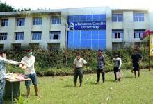 Photo of Coronavirus Crisis: MGU raises helping hand for the poor suffering due to lockdown in Meghalaya